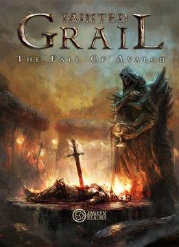 Tainted Grail : The Fall of Avalon  -  Jeu de base + Surprise box avec Stretch goals (version anglaise)