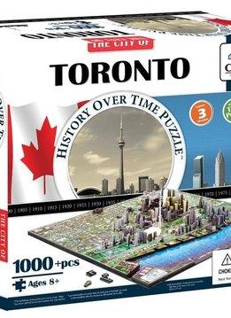 Puzzle: 4D Cityscape - Toronto, Canada (1081 pcs)