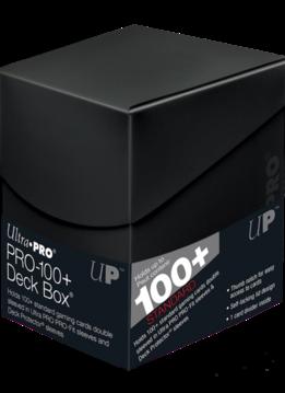 Deck Box: Eclipse PRO Jet Black (100ct)