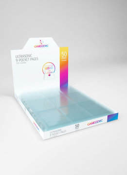 Pages: Ultrasonic Toploading 9-Pocket Display - Clear (50)