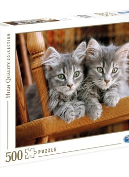 Puzzle: Kittens - High Quality Collection (500pcs)