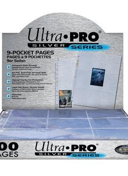 Ultra Pro 9-Pocket Silver Box (100ct)