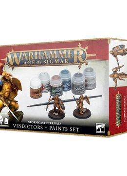Stormcast Eternal Vindictors Paint Set (Paint + Miniatures)
