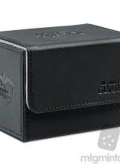 Deck Box: Sidewinder Xenoskin 80+ Black