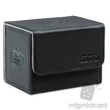 Deck Box: Sidewinder Xenoskin 80+ Black