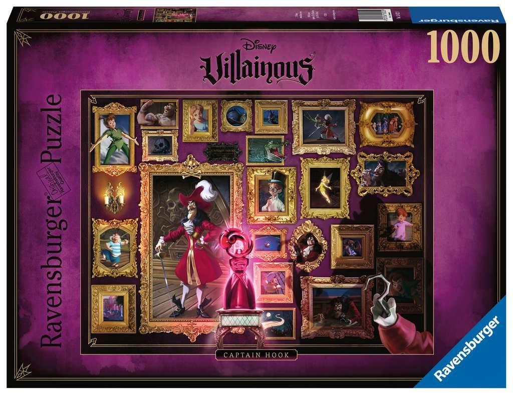 Casse-tête: Capitaine Crochet - Villainous (1000pcs)