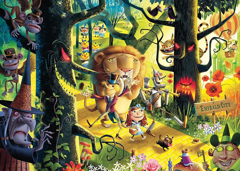 Casse-tête: Le magicien d'Oz (1000pcs)