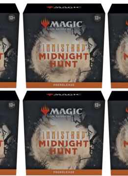 Innistrad: Midnight Hunt - Prerelease à la maison x6 (17 sept)