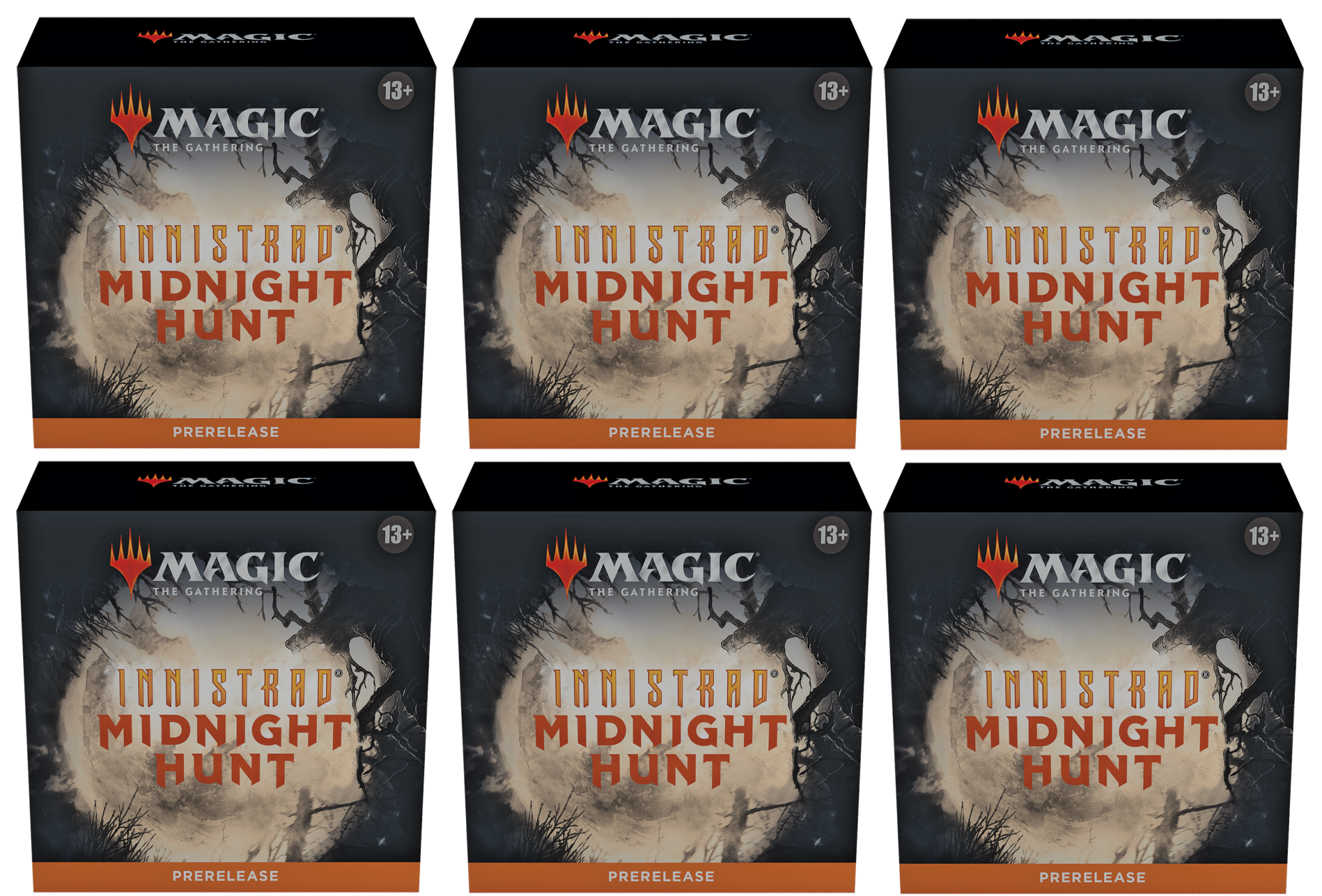 Innistrad: Midnight Hunt - Prerelease Packs x6