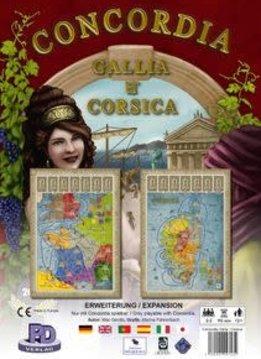 Concordia: Map Gallia Corsica (FR)