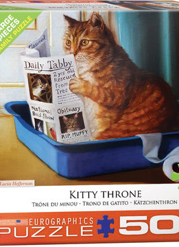 Puzzle: Kitty Throne (500pcs Large)