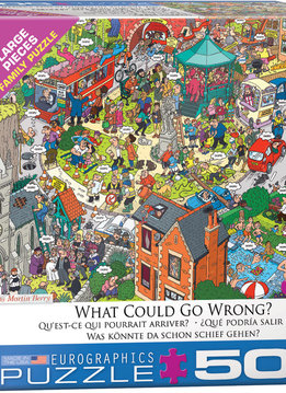 Puzzle: What Could go Wrong?  By Martin Berry (500pcs Large)