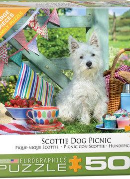 Puzzle: Scottie Dog Picnic (500pcs Large)