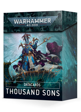 Datacards: Thousand Sons 2021 (EN)