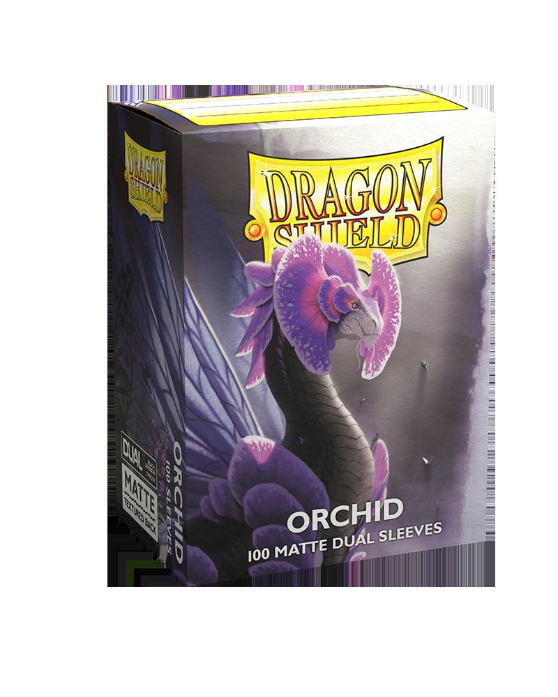 Dragon Shield Matte DUAL Orchid (Purple) (100ct)