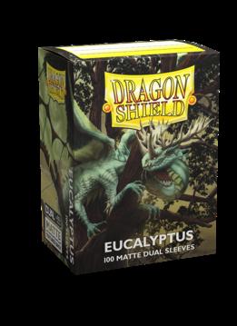 Dragon Shield Matte DUAL Eucalyptus (Green) (100ct)