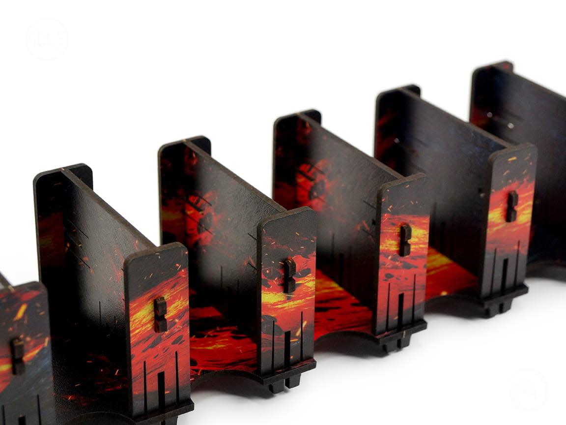 Card Holder - 5S HDF Fullprint Lava