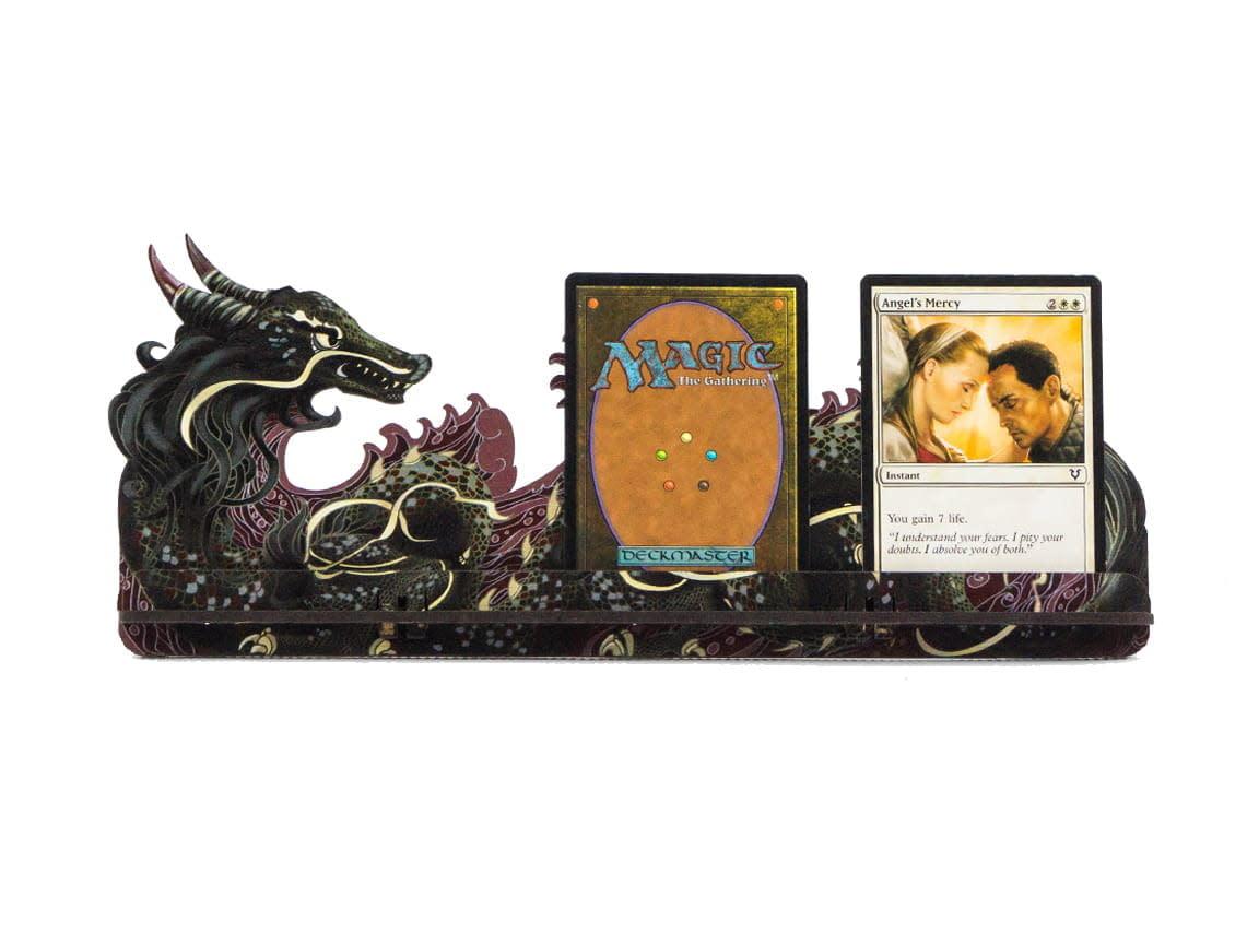 Card Holder - S Dragon Fullprint Red