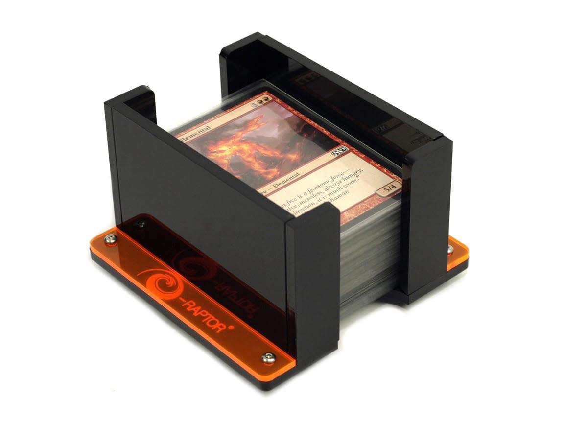 Card Holder - 1L Solid Black