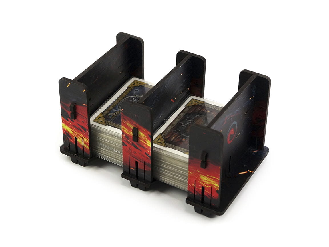 Card Holder - 2S HDF Fullprint Lava
