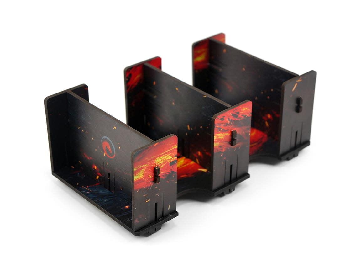 Card Holder - 2L HDF Fullprint Lava