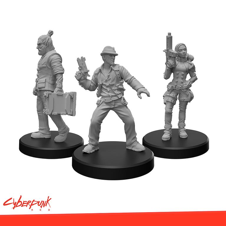 Cyberpunk Red: Edgerunners E Minis