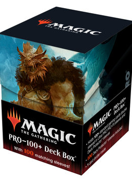MTG AFR Commander Vrondiss, Rage of Ancients 100+ Deck Box & 100ct Sleeves