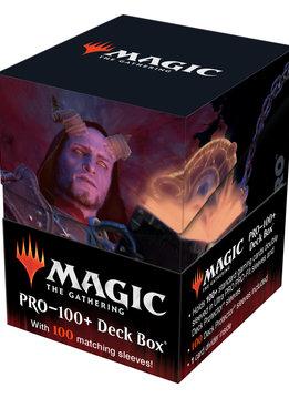 MTG AFR Commander Prosper, Tome-Bound 100+ Deck Box & 100ct Sleeves