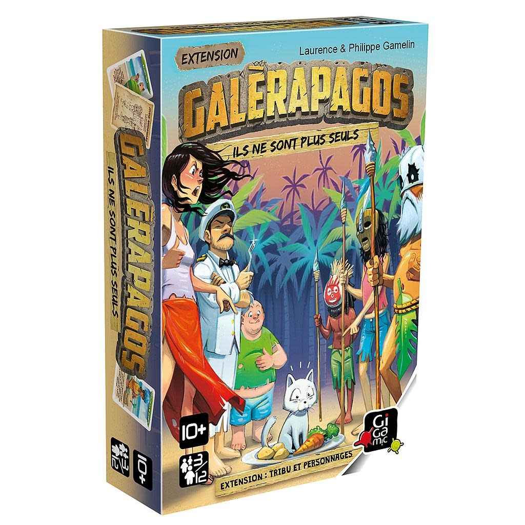 Galérapagos - Extension: Tribu et Personnages
