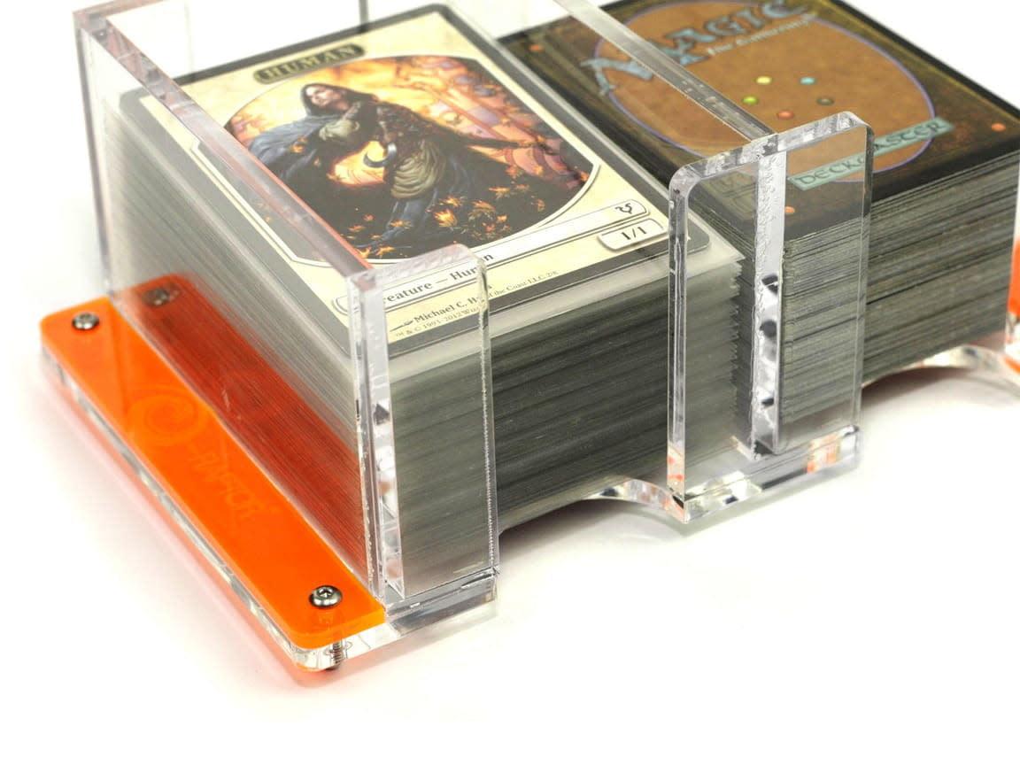 Card Holder - 2L Solid Transparent