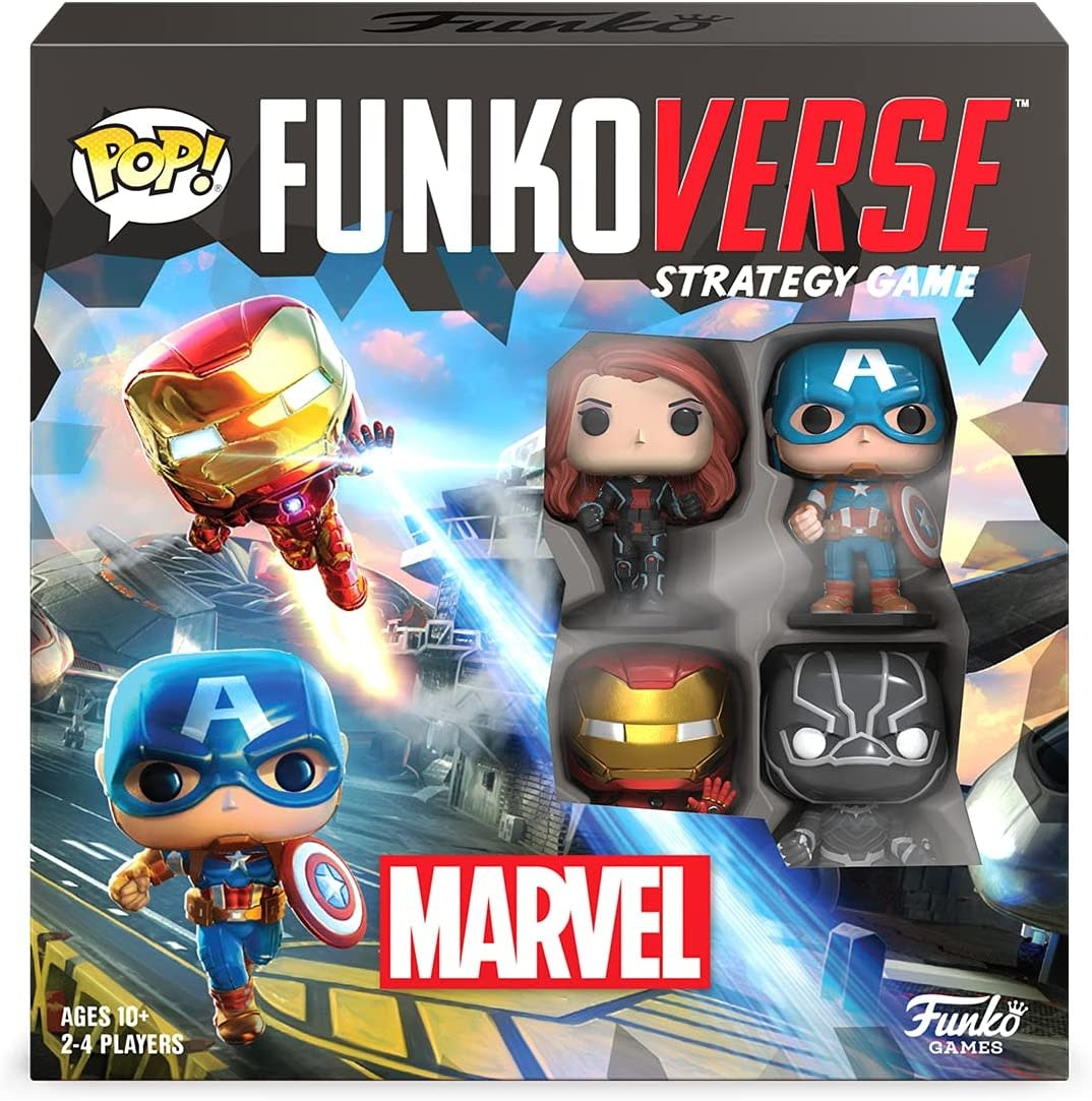 Funkoverse: Marvel #100 (4 Characters Set)