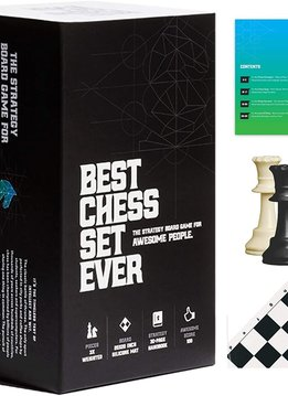 Best Chess Set Ever (Black) (No Googly Eyes)