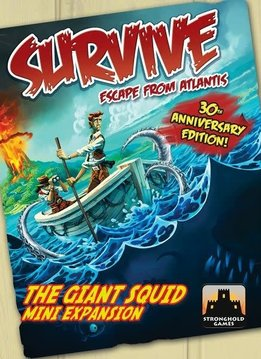 Survive: Giant Squid Mini Expansion