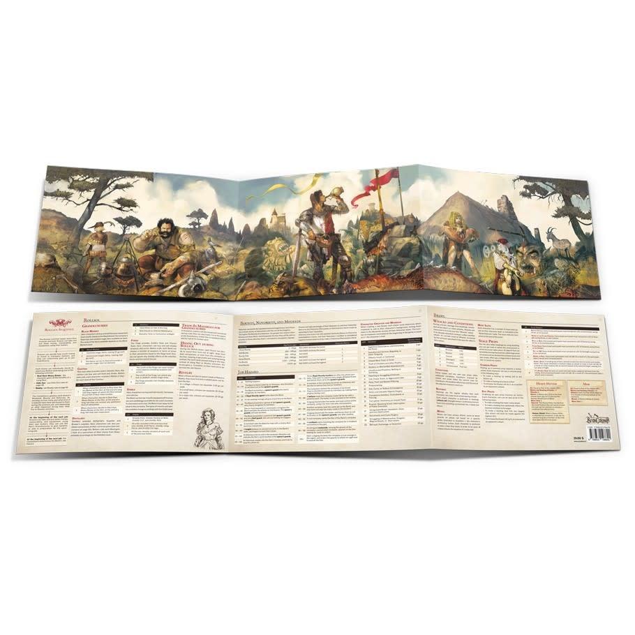 Brancalonia RPG: Condottiero's Screen