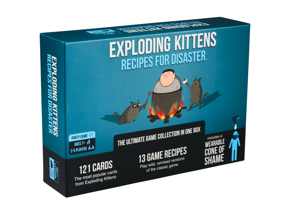 Exploding Kittens: Recipe for Disaster