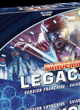 Pandemic Legacy Saison 1 - Boite bleue