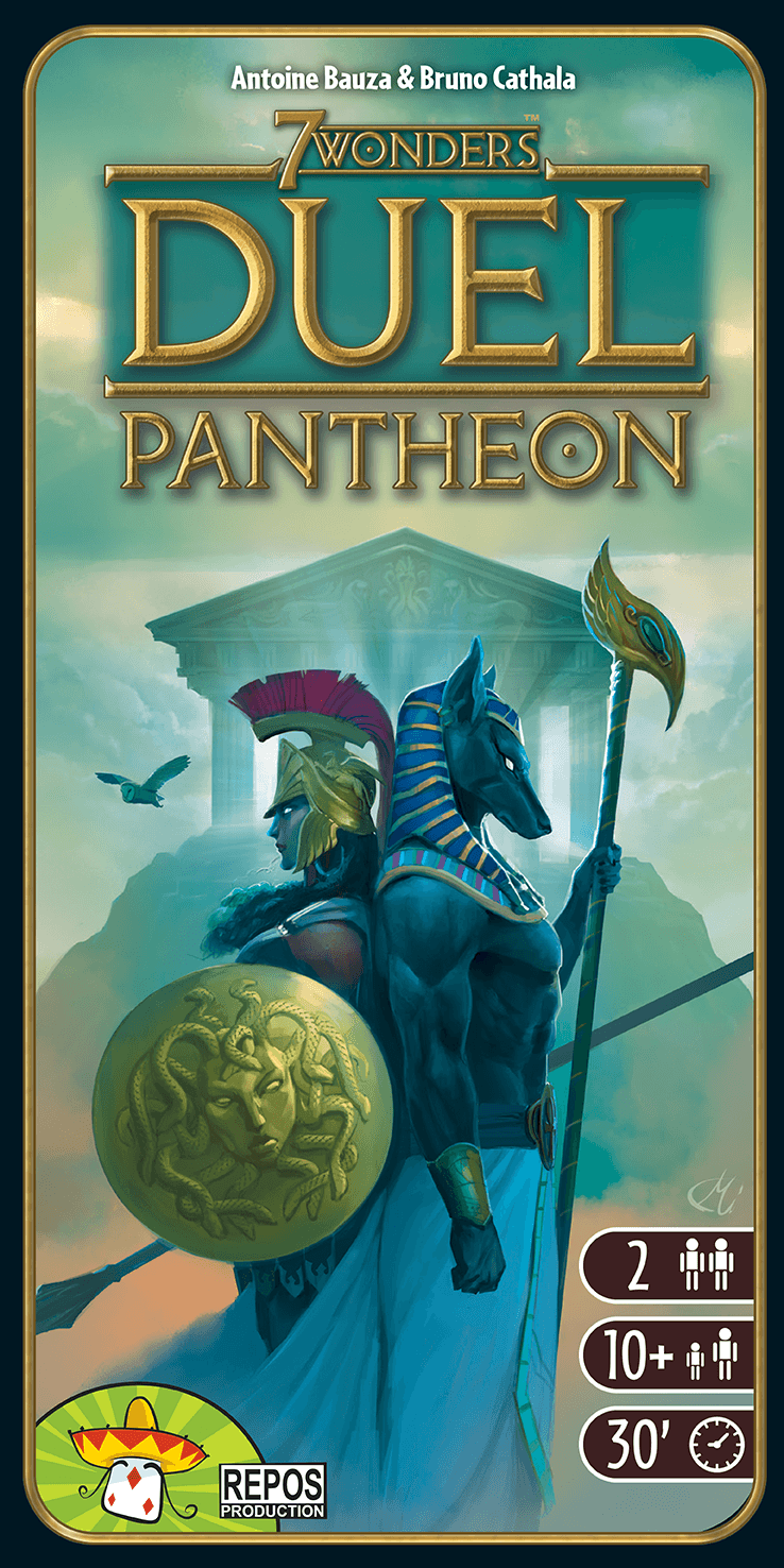 7 Wonders Duel: Pantheon (FR)