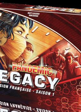 Pandemic Legacy Saison 1 - Boite rouge