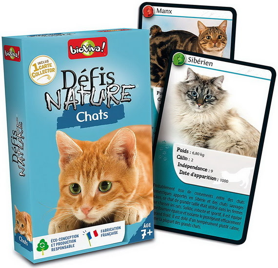 Defis Nature:  Chats