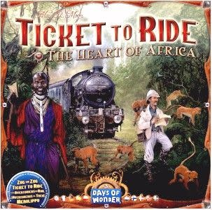 Ticket to Ride: The Heart of Africa (ML)