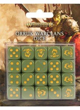 Orruk Warclans Dice Set