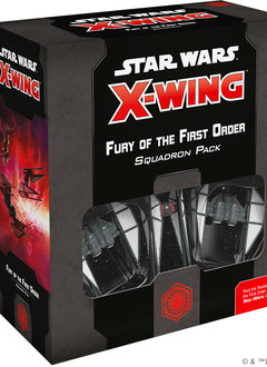 X-Wing 2nd Ed: Fury of the First Order Squadron Pack (24 sept)