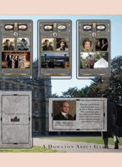Captured Moments: A Downtown Abbey Card Game