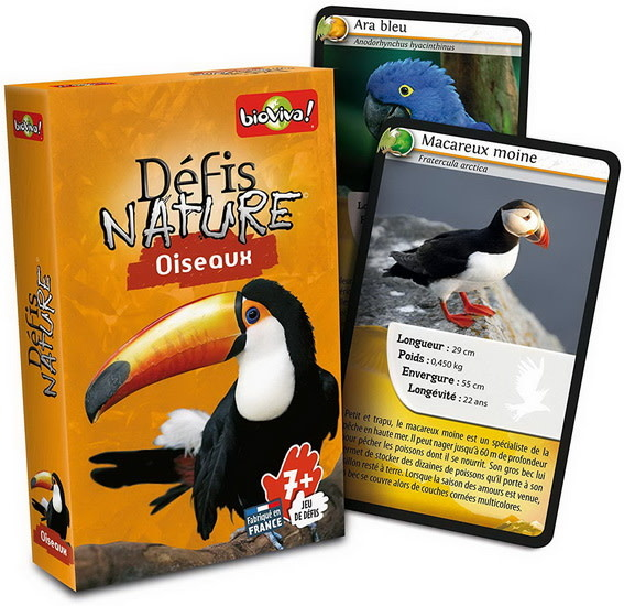 Defis Nature:  Oiseaux
