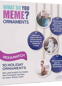 What Do You Meme? Ornaments