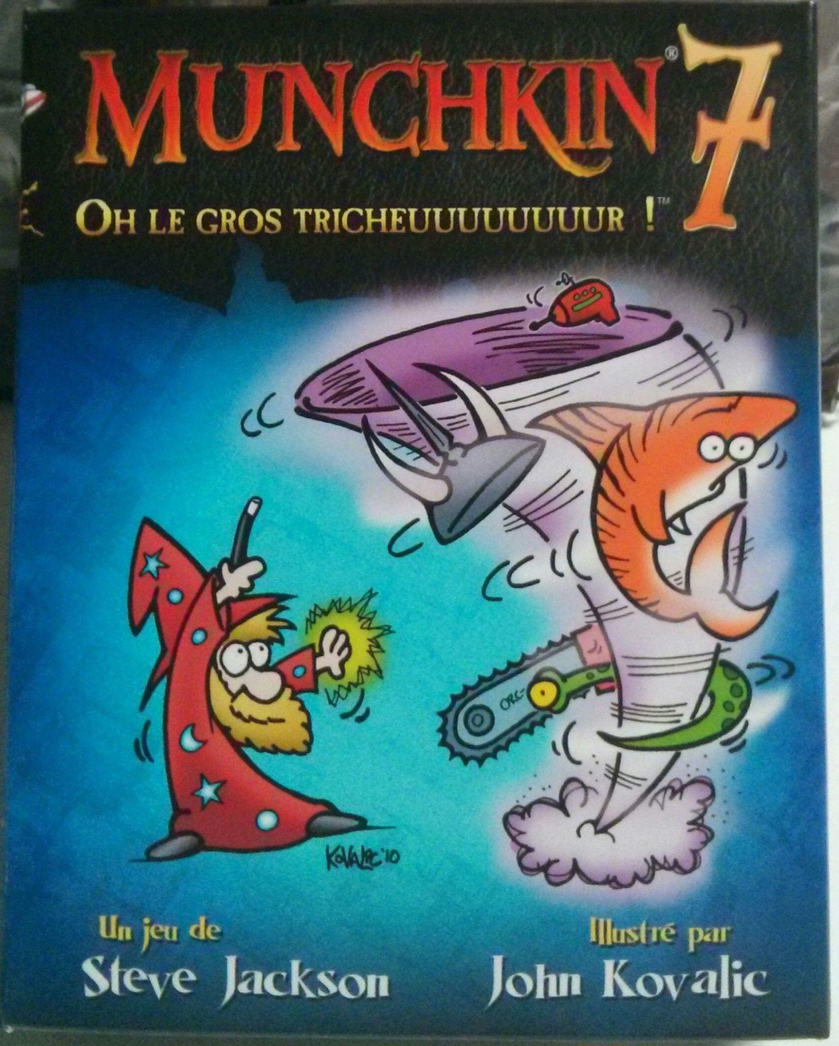 Munchkin 7: Oh Le Gros Tricheuuuuuuuur!