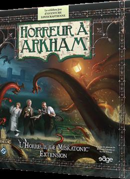 Horreur à Arkham 2e: L'Horreur de Miskatonic