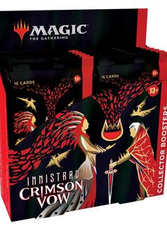 Innistrad Crimson Vow - Collector Booster Box (19 nov)
