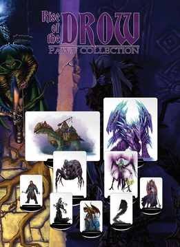 Rise of the Drow Collector's Edition Pawn Set