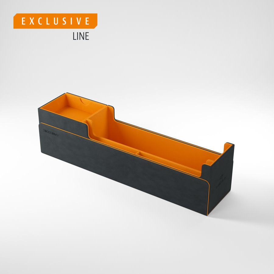 Deck Box: Cards Lair 400+ Exclusive Black and Orange